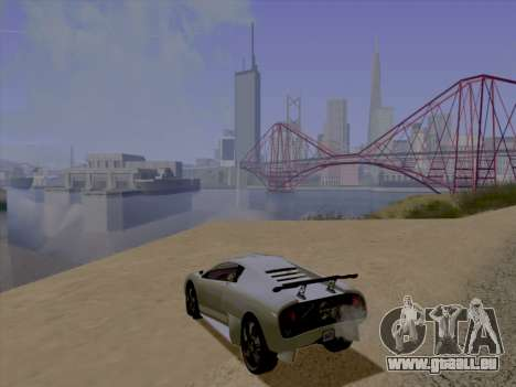Jundo ENB Series pour GTA San Andreas deuxième écran