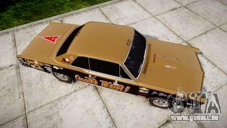 Pontiac GTO 1965 GeeTO Tiger für GTA 4 rechte Ansicht