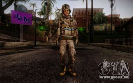 Blackburn from Battlefield 3 pour GTA San Andreas