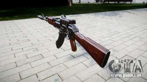 Автомат АК-47 Collimateur et frein de bouche cib pour GTA 4 secondes d'écran