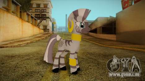 Zecora from My Little Pony pour GTA San Andreas