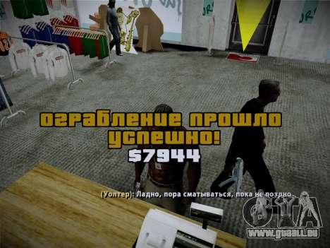 System-Diebstähle v4.0 für GTA San Andreas zehnten Screenshot