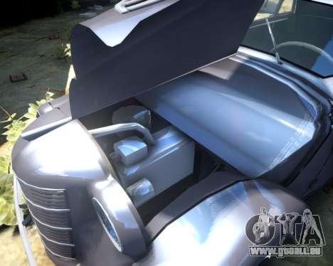 Moskwitsch 400 für GTA 4 Innenansicht