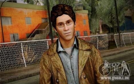 Harry Mason From SH: Shattered Memories pour GTA San Andreas troisième écran
