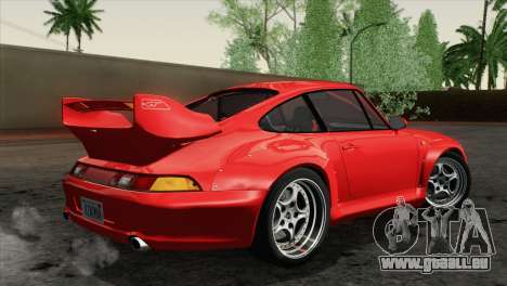 Porsche 911 GT2 (993) 1995 [HQLM] pour GTA San Andreas laissé vue
