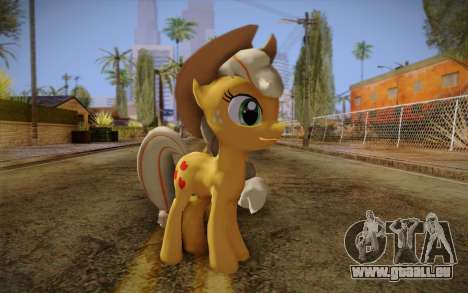 Applejack from My Little Pony pour GTA San Andreas