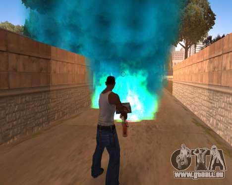Freaky-Effekte für GTA San Andreas