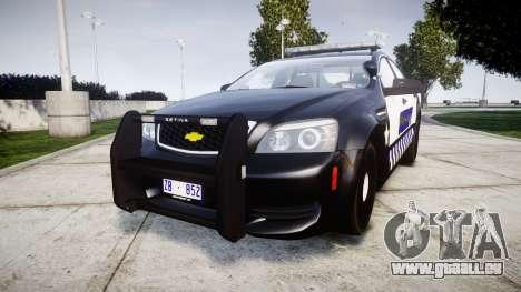 Chevrolet Caprice 2012 Sheriff [ELS] v1.1 für GTA 4