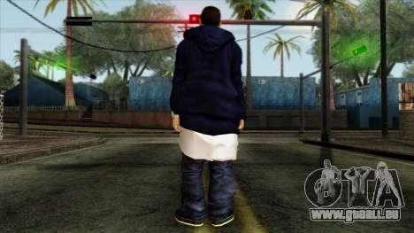 GTA 4 Skin 3 pour GTA San Andreas deuxième écran