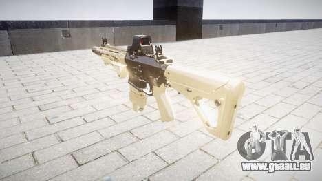 Fusil AR-15 CQB typeeotech pour GTA 4 secondes d'écran