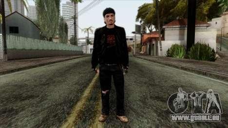 GTA 4 Skin 10 für GTA San Andreas