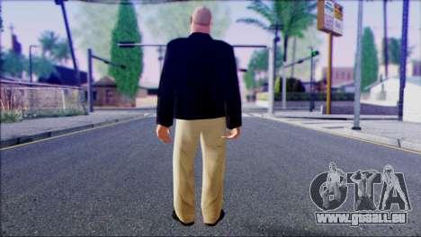 Russian Mafia Skin 1 pour GTA San Andreas deuxième écran
