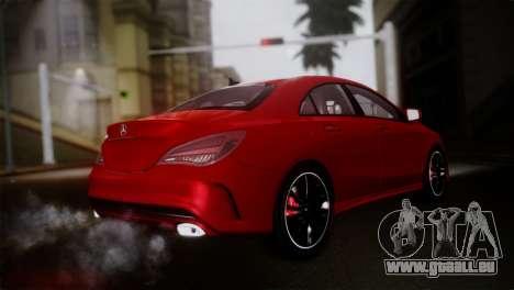 Mercedes-Benz CLA 250 2014 pour GTA San Andreas laissé vue