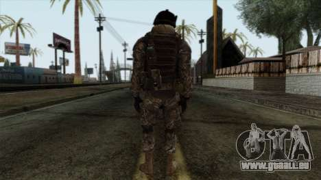 Modern Warfare 2 Skin 7 pour GTA San Andreas deuxième écran