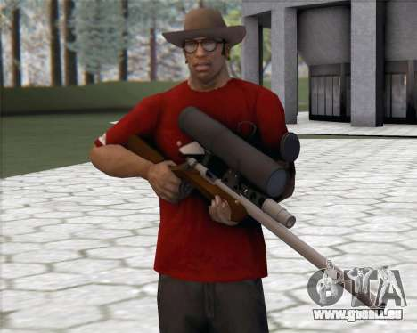 TF2 Sniper Rifle für GTA San Andreas