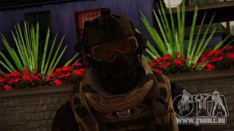 Modern Warfare 2 Skin 3 pour GTA San Andreas troisième écran