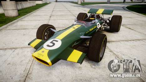 Lotus Type 49 1967 [RIV] PJ5-6 für GTA 4