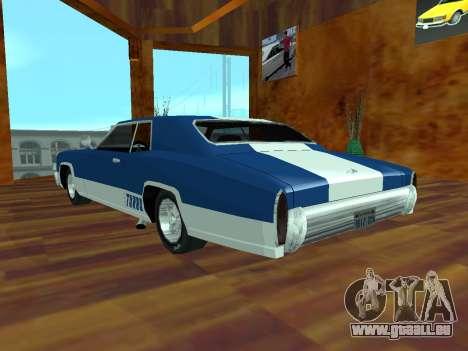 Buccaneer-Turbo für GTA San Andreas linke Ansicht