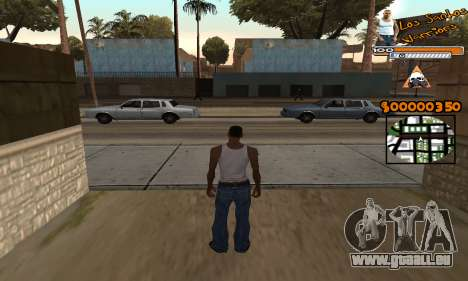 C-HUD LSW pour GTA San Andreas