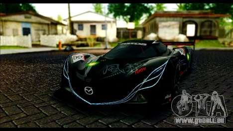 Mazda Furai Concept 2008 für GTA San Andreas