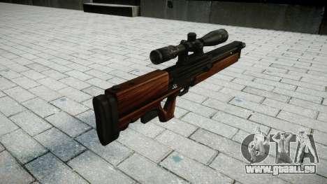 Fusil de Sniper Walther WA 2000 pour GTA 4 secondes d'écran