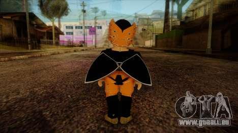 Cell Junior Skin pour GTA San Andreas deuxième écran