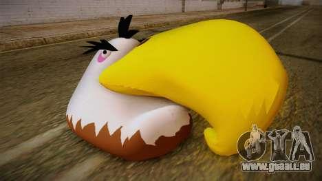 Might Eagle Bird from Angry Birds für GTA San Andreas dritten Screenshot