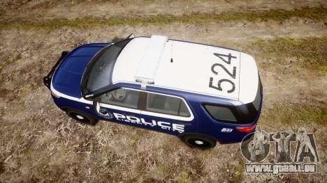 Ford Explorer 2013 LCPD [ELS] v1.0L für GTA 4 rechte Ansicht