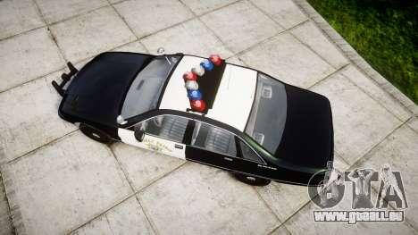 Chevrolet Caprice 1991 Highway Patrol [ELS] pour GTA 4 est un droit