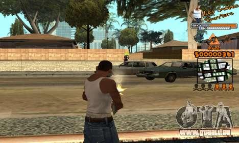 C-HUD LSW für GTA San Andreas her Screenshot