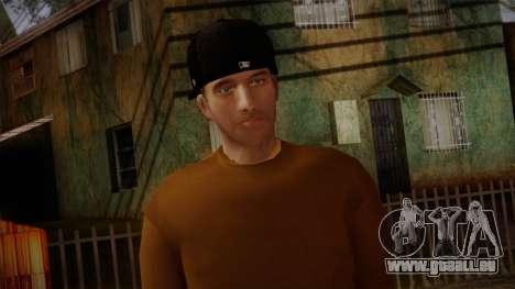 Gedimas Omyst Skin HD pour GTA San Andreas troisième écran
