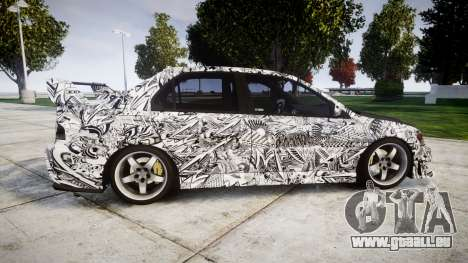 Mitsubishi Lancer Evolution IX Sharpie für GTA 4 linke Ansicht