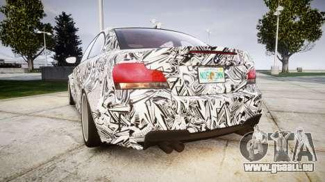 BMW 1M 2011 Sharpie pour GTA 4 Vue arrière de la gauche