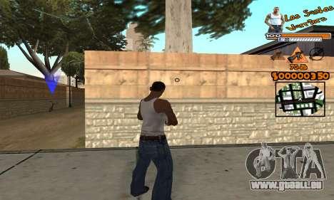 C-HUD LSW für GTA San Andreas dritten Screenshot