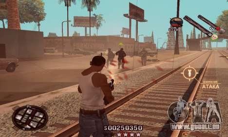 C-HUD Classic pour GTA San Andreas troisième écran