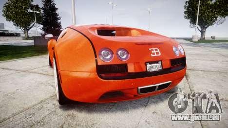 Bugatti Veyron 16.4 SS [EPM] Halloween Special pour GTA 4 Vue arrière de la gauche