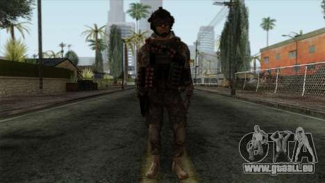 Modern Warfare 2 Skin 8 pour GTA San Andreas