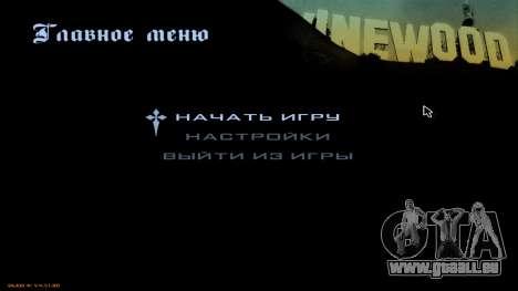 Full HD Interface pour GTA San Andreas deuxième écran