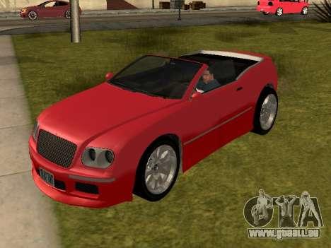 Cognoscenti Cabrio für GTA San Andreas