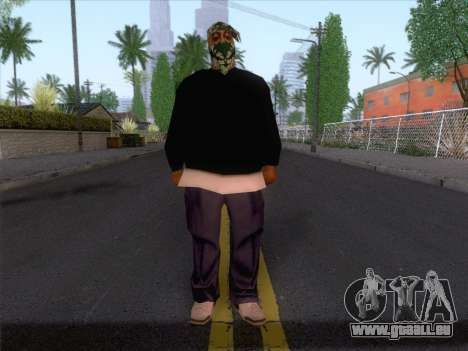 New Ballas Skin 1 für GTA San Andreas