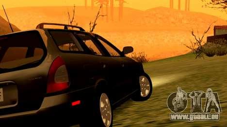 Daewoo Nubira I Kombi CDX US 1999 für GTA San Andreas Räder
