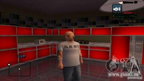 C-HUD Brendi pour GTA San Andreas troisième écran