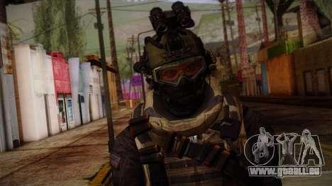 Modern Warfare 2 Skin 1 pour GTA San Andreas troisième écran
