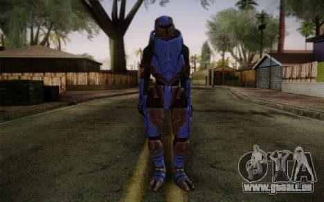 Garrus Helmet from Mass Effect 2 pour GTA San Andreas