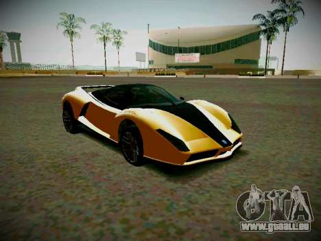Le guépard из GTA 5 pour GTA San Andreas