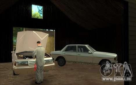 Straße garage von Siega für GTA San Andreas dritten Screenshot
