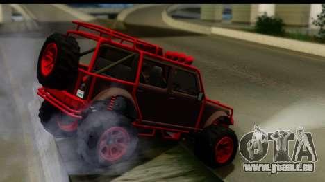GTA 5 Mesa MerryWeather für GTA San Andreas linke Ansicht