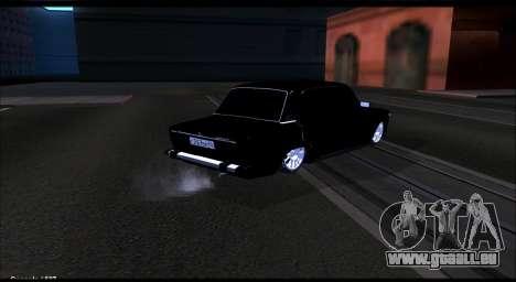 VAZ 2106 Chernysh pour GTA San Andreas sur la vue arrière gauche