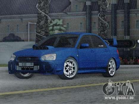 Subaru impreza WRX STI 2004 pour GTA San Andreas