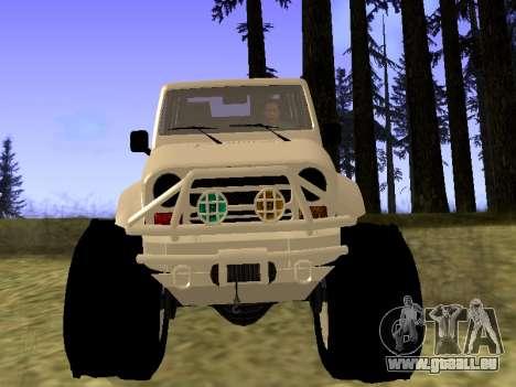 GTA 5 Mesa MerryWeather version für GTA San Andreas rechten Ansicht